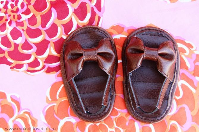 Sandale pour bébé tuto / DIY Baby girl Sandals