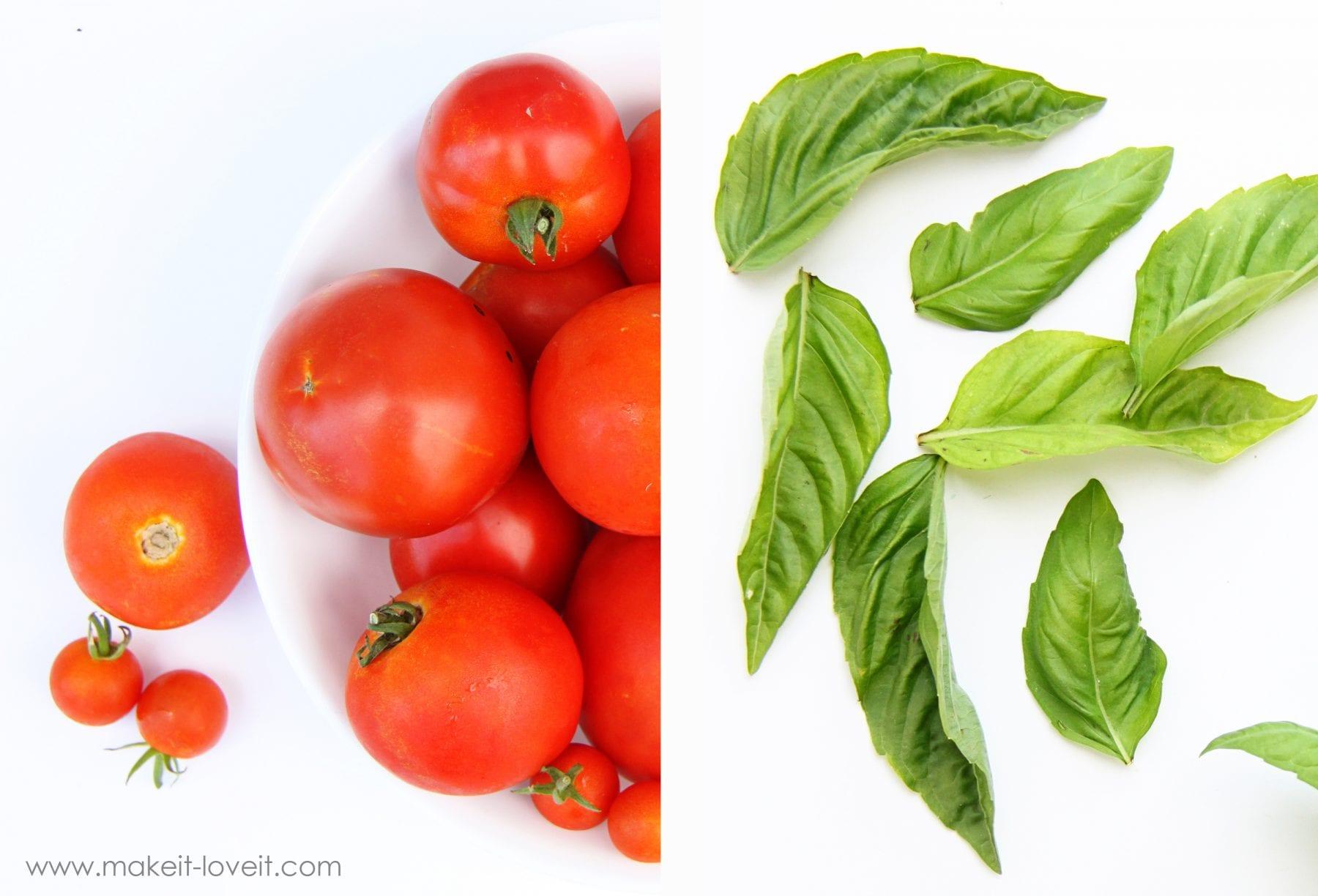 fresh tomato basil