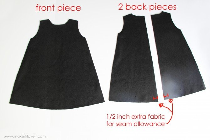 Выкройки детского платья трапеция