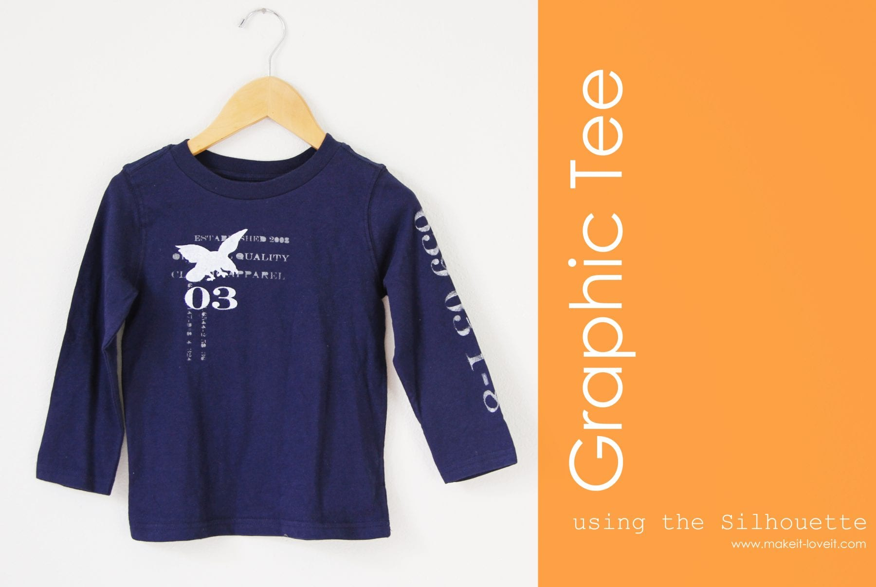 Boy Graphic Tee: Using the new Silhouette Cameo (plus one to GIVE AWAY!! [$340 value])