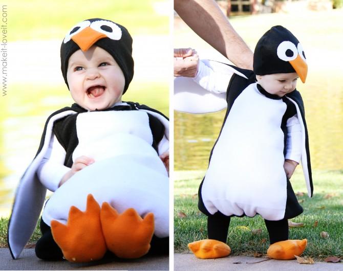Костюм пингвина мальчику своими руками