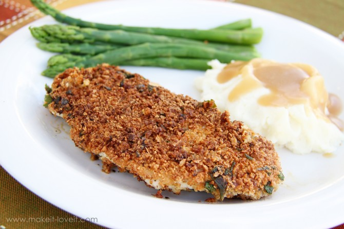 "Hellmann's ""Stuffing"" crusted Turkey Cutlets (and GIVEAWAY!!)"