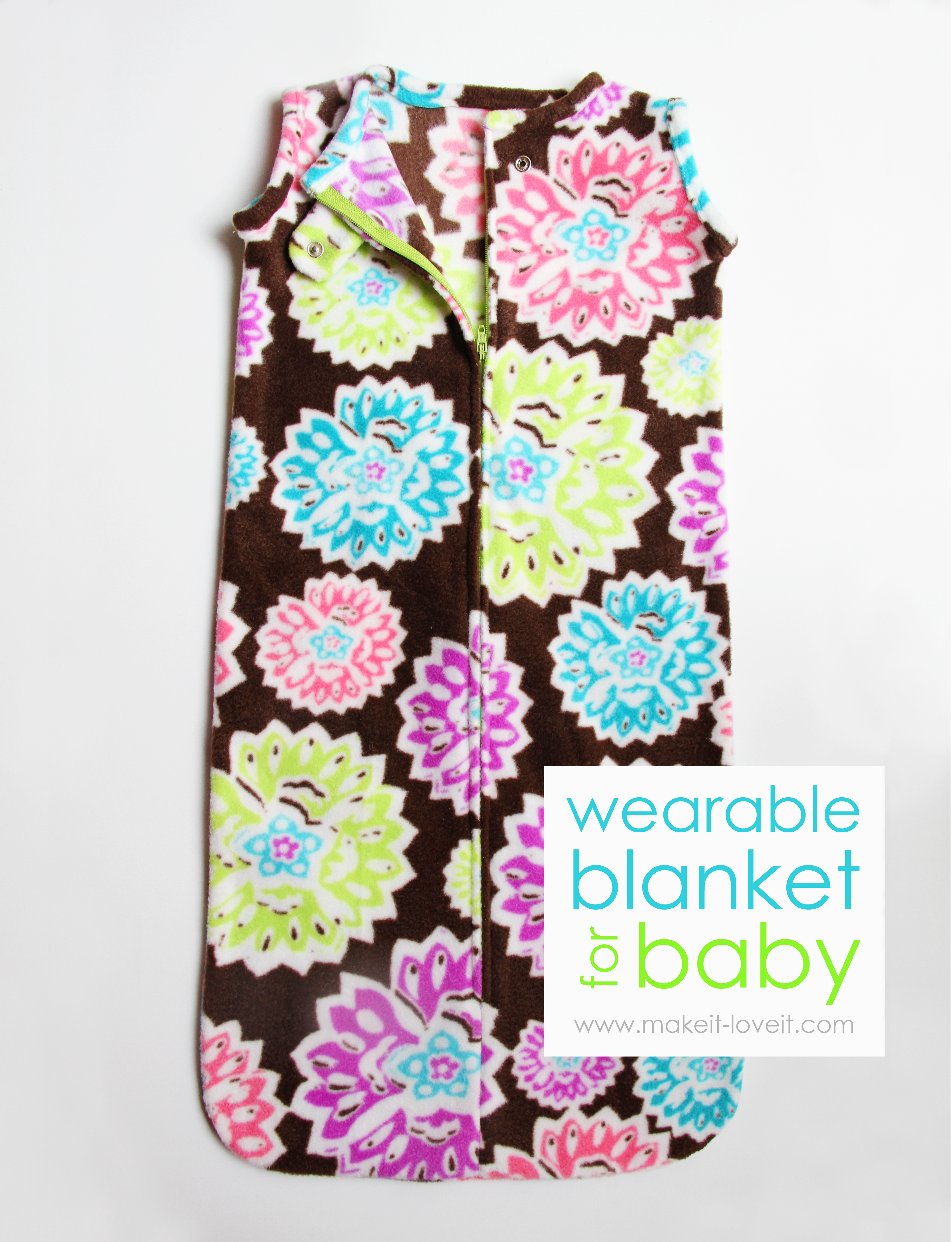 wearable blanket for baby