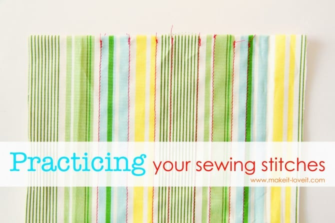 basic stitches tutorial