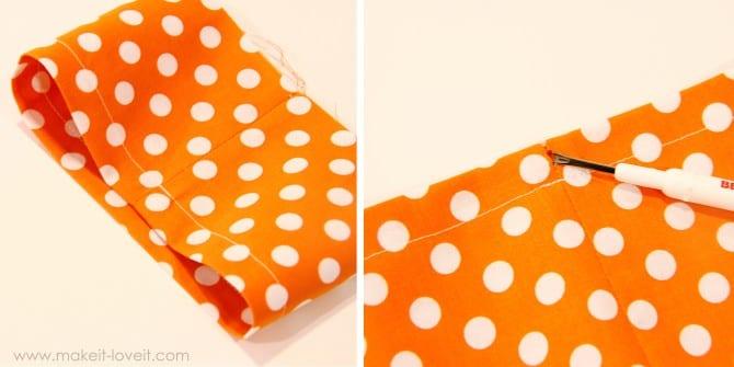 прозрачный мешок для игрушек как сшить