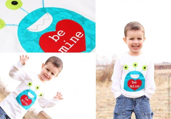 and - Boys Valentines Shirt