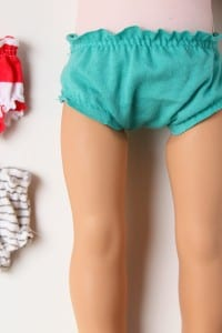 Make your own DOLLY Panties (pattern piece included)
