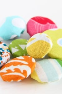 Sewing Tips: making Cover Buttons, without a kit.