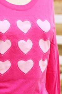 Cookie Cutter Heart Shirt (a Valentine's shirt for me)