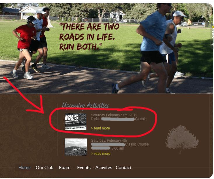 I've signed up for a 4 miler……ack, my insides are nervous!