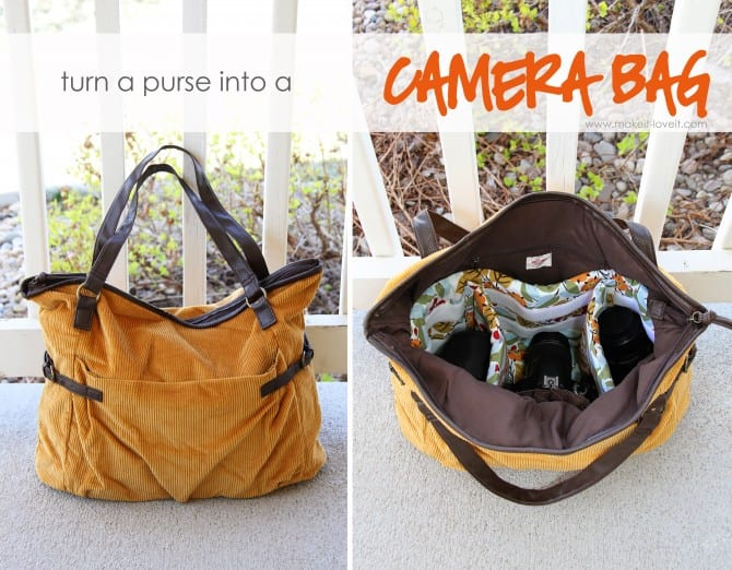 Turn a Purse into a Padded Camera Bag | Make It and Love It