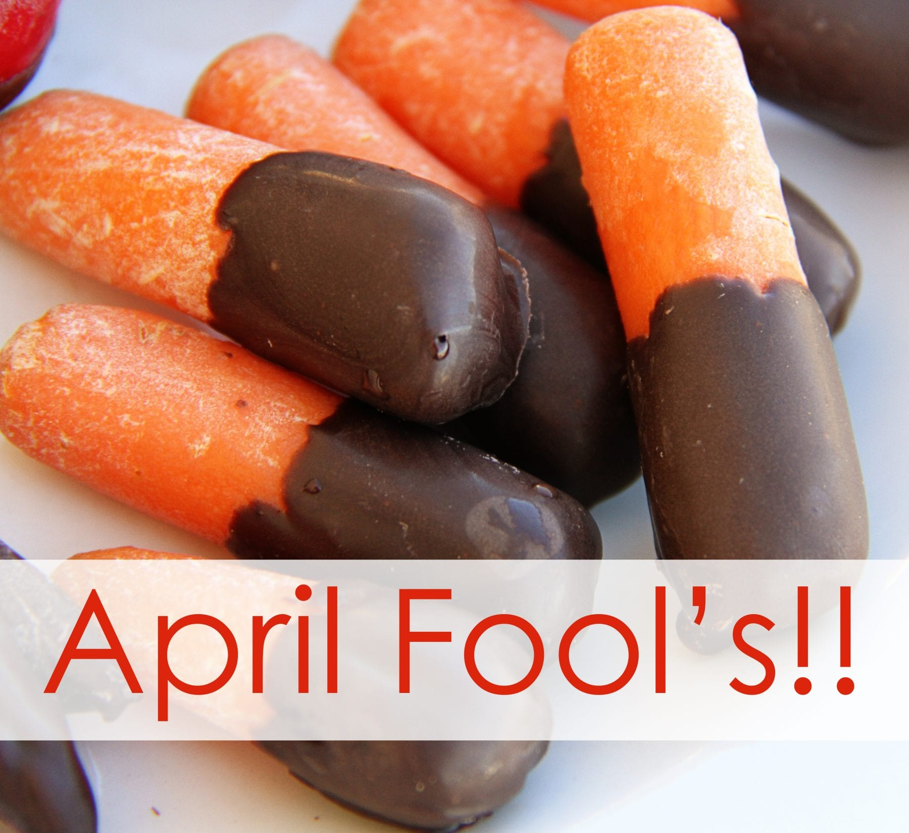 Did you catch my April Fool's trick yesterday?