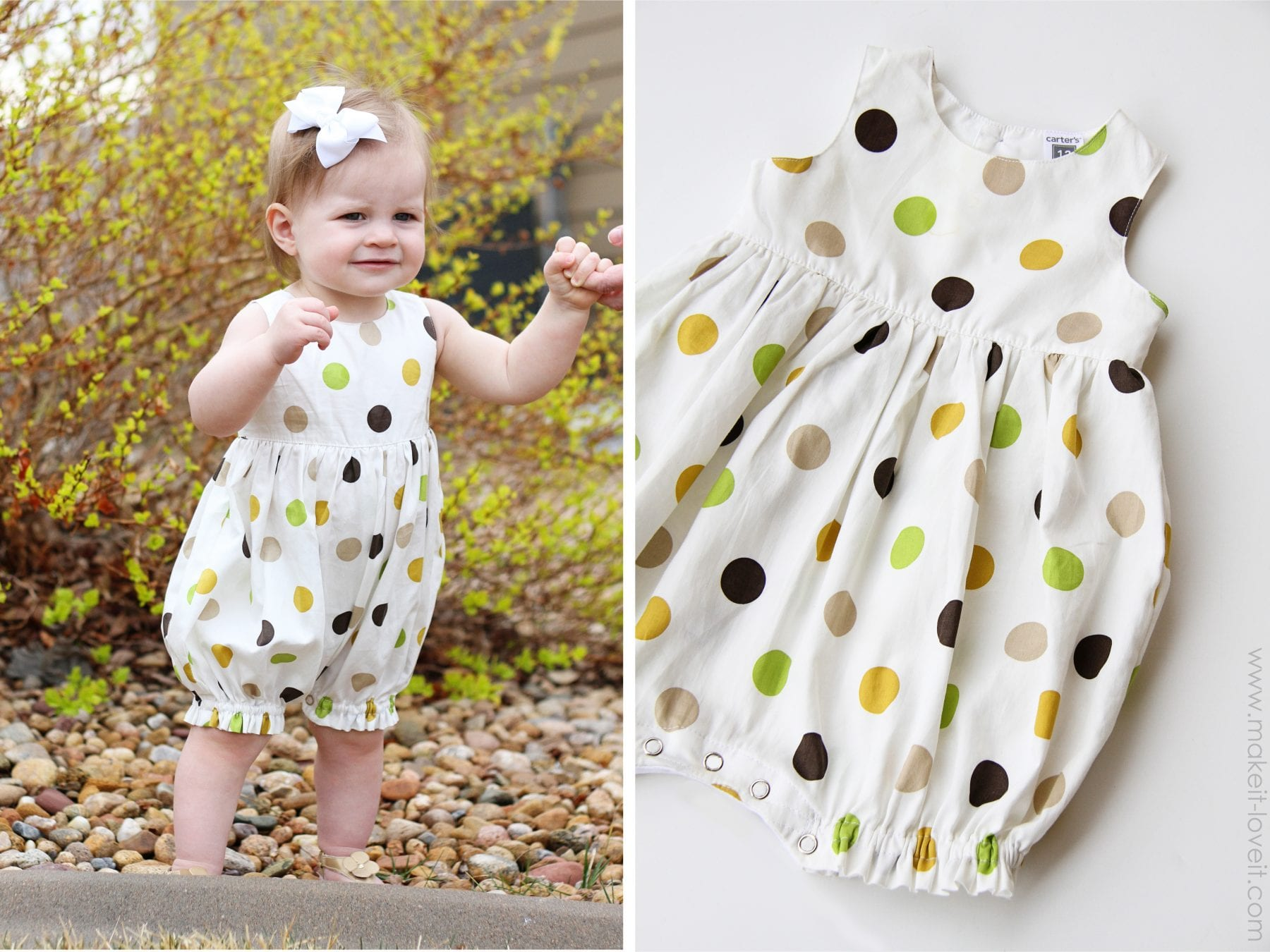 baby romper  Make It and Love It