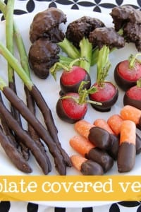 Chocolate Covered Veggies......(EDITED: April Fool's!!)