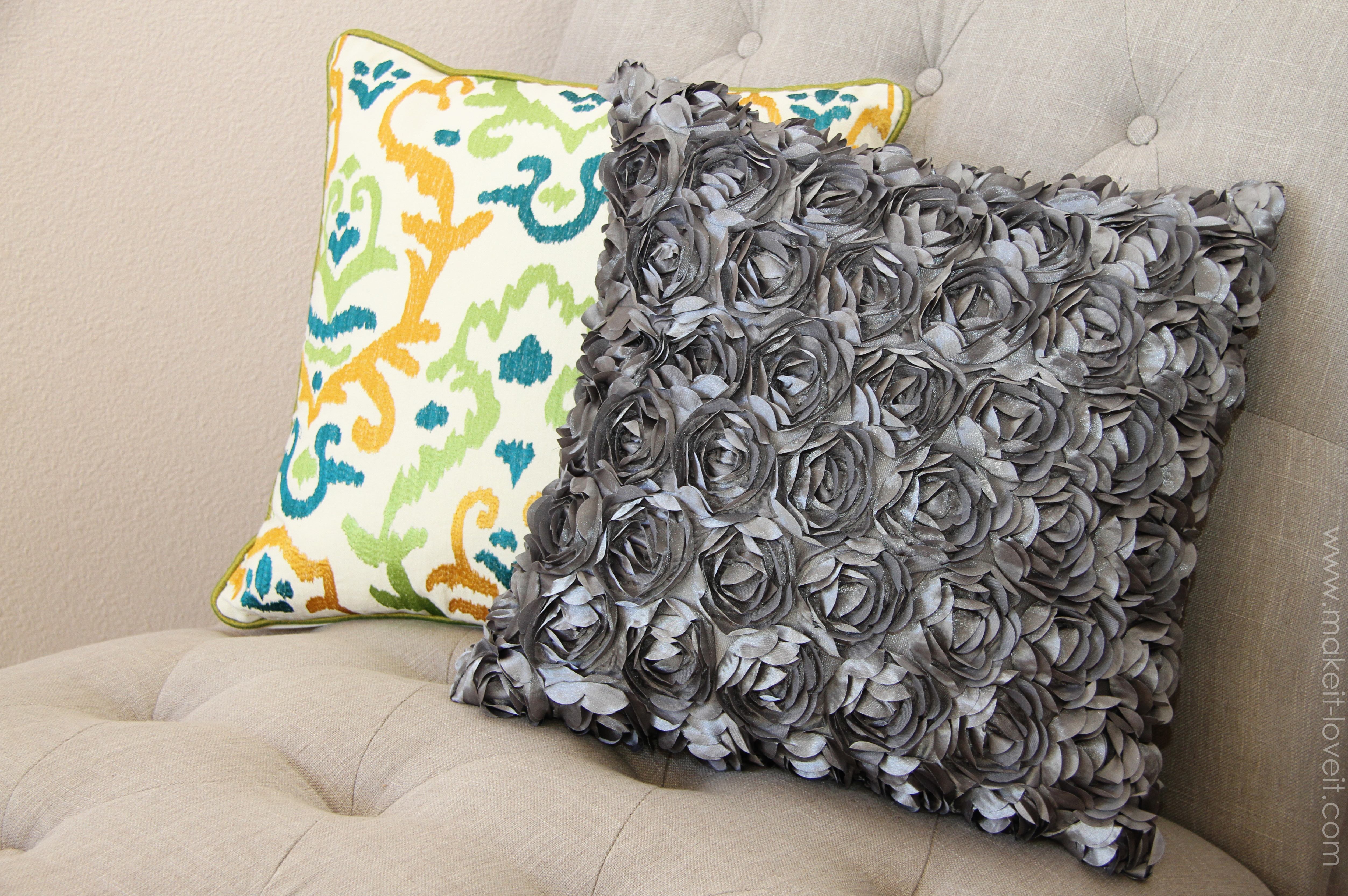 Как сшить диванную подушку своими руками мастер класс
