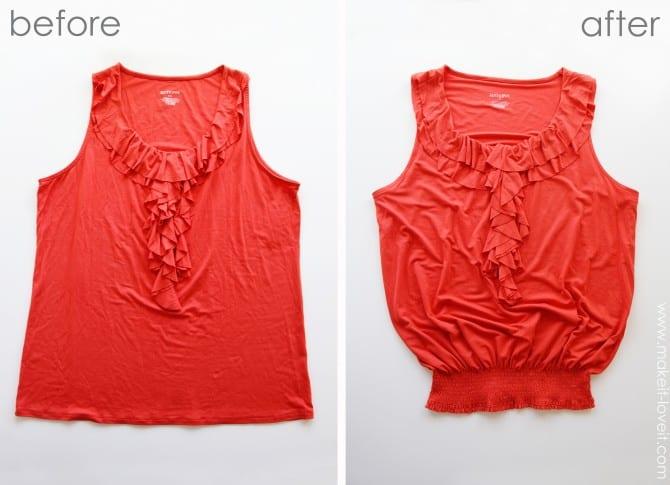 Размещено: Воскресенье, 27 Мая 2012 г. ... мк переделка футболки Ткань.