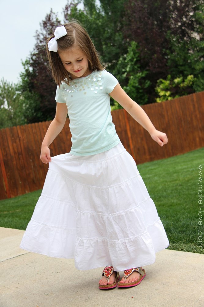 tiered maxi skirt a great skirt for summer make