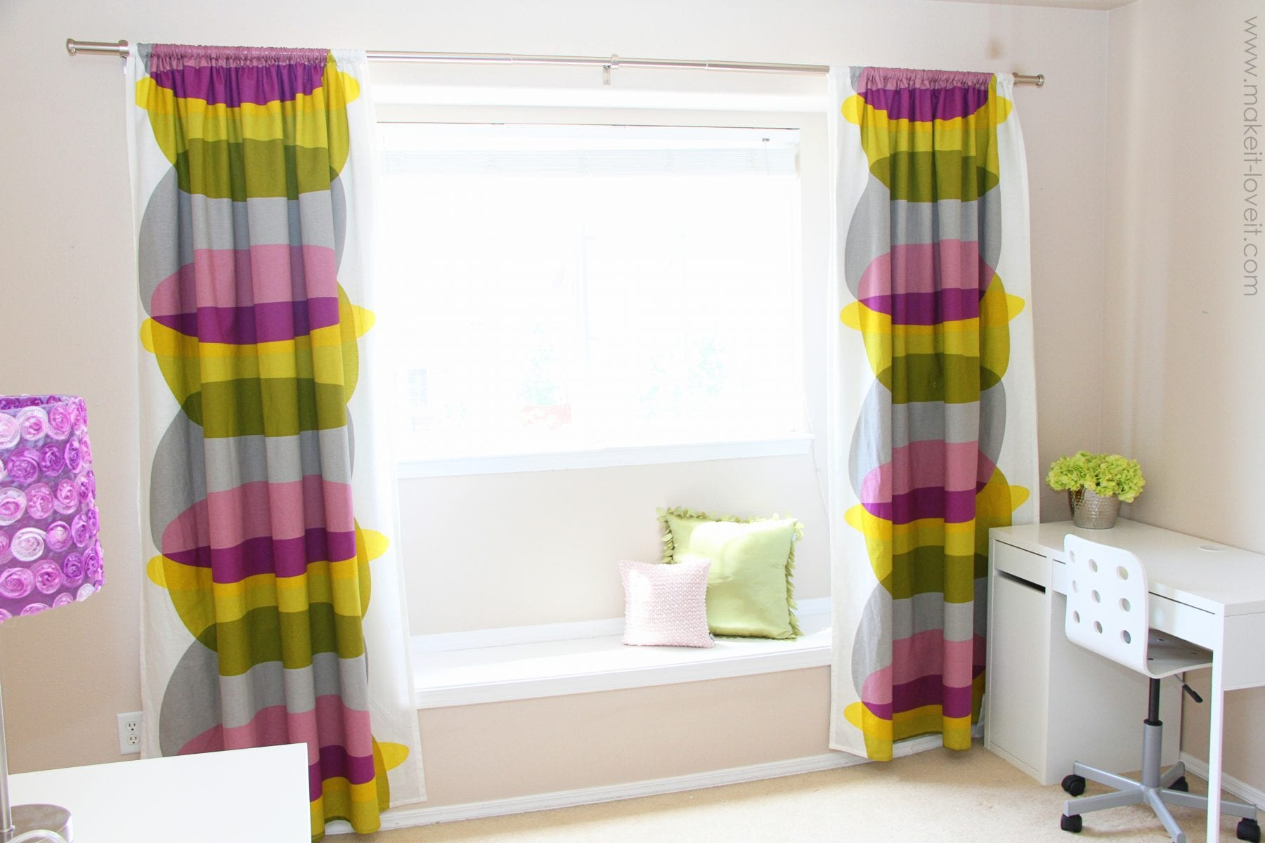 Make your curtains BLACKOUT CURTAINS (simplified version) | Make ...