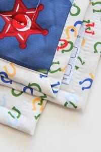 Downy Touch of Comfort - Quilts for Kids, PART 2 (quilting and binding....the easy way)