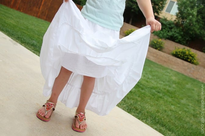 Tiered Maxi Skirt.........a great skirt for summer! | Make It and ...
