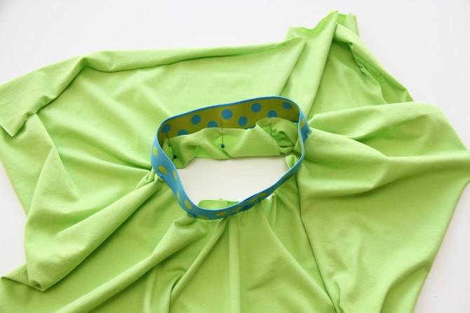 Как сшить юбку на резинке пошагово