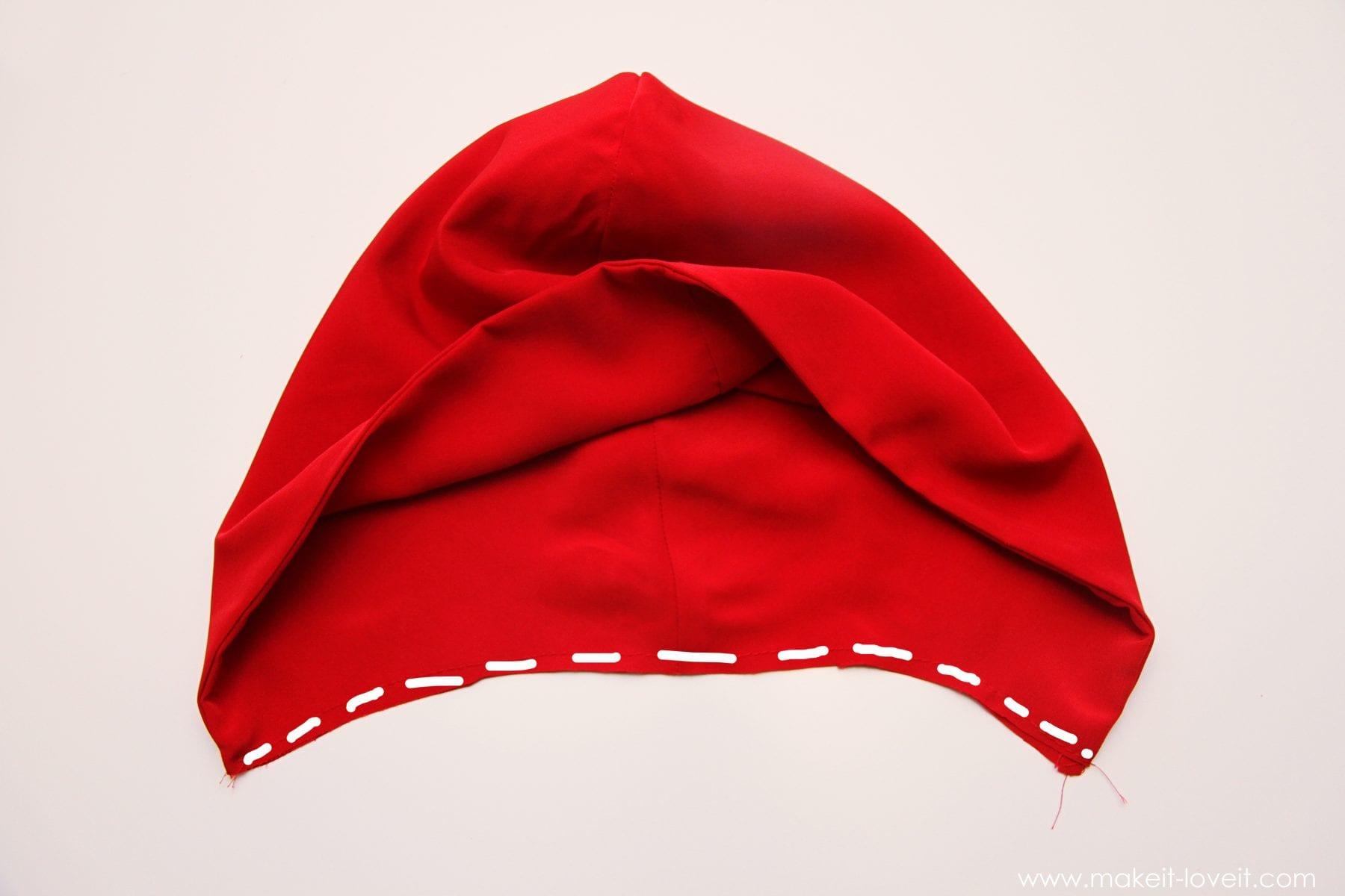 Как сшить накидку красной шапочки