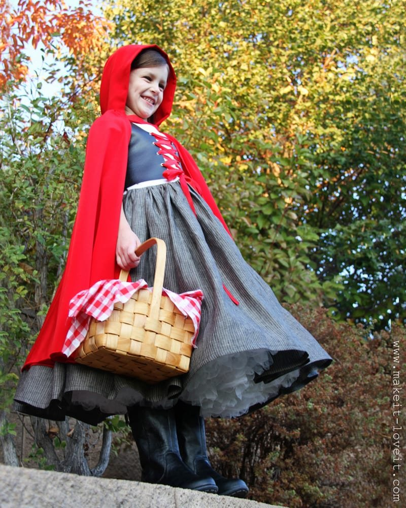 Halloween Costumes 2012: Little Red Riding Hood :) | Make It and ...