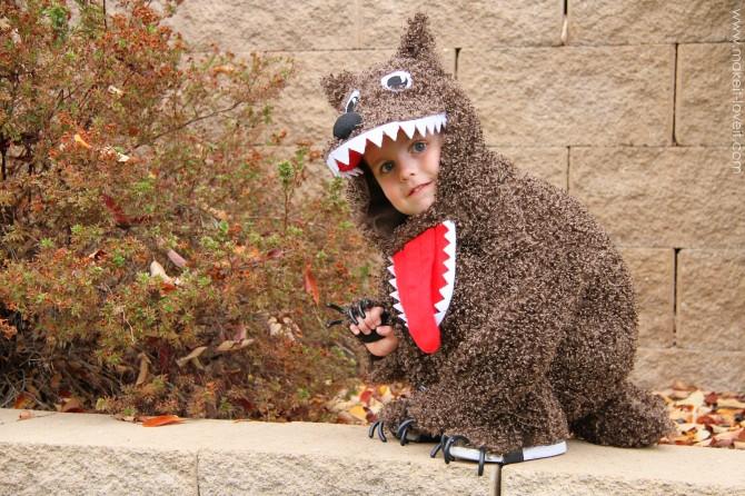 Diy big bad wolf costume - photo#23