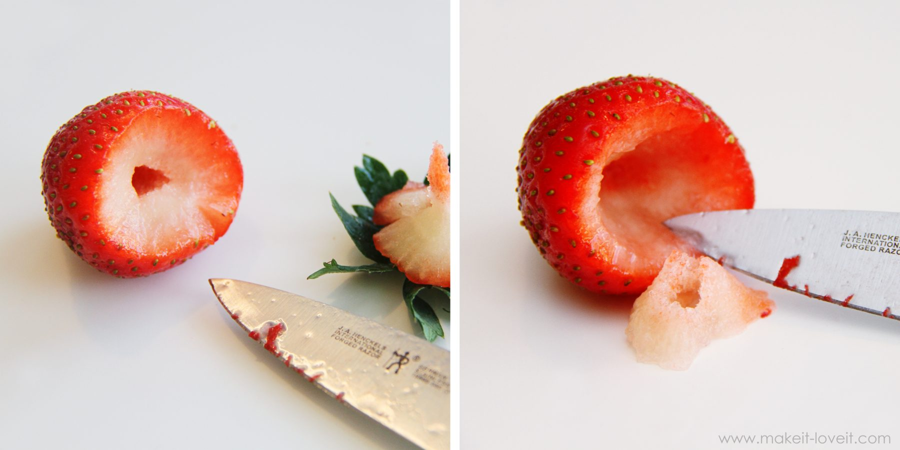 Simple and speedy 39 cheesecake stuffed strawberries 39 make for What can you make with strawberries