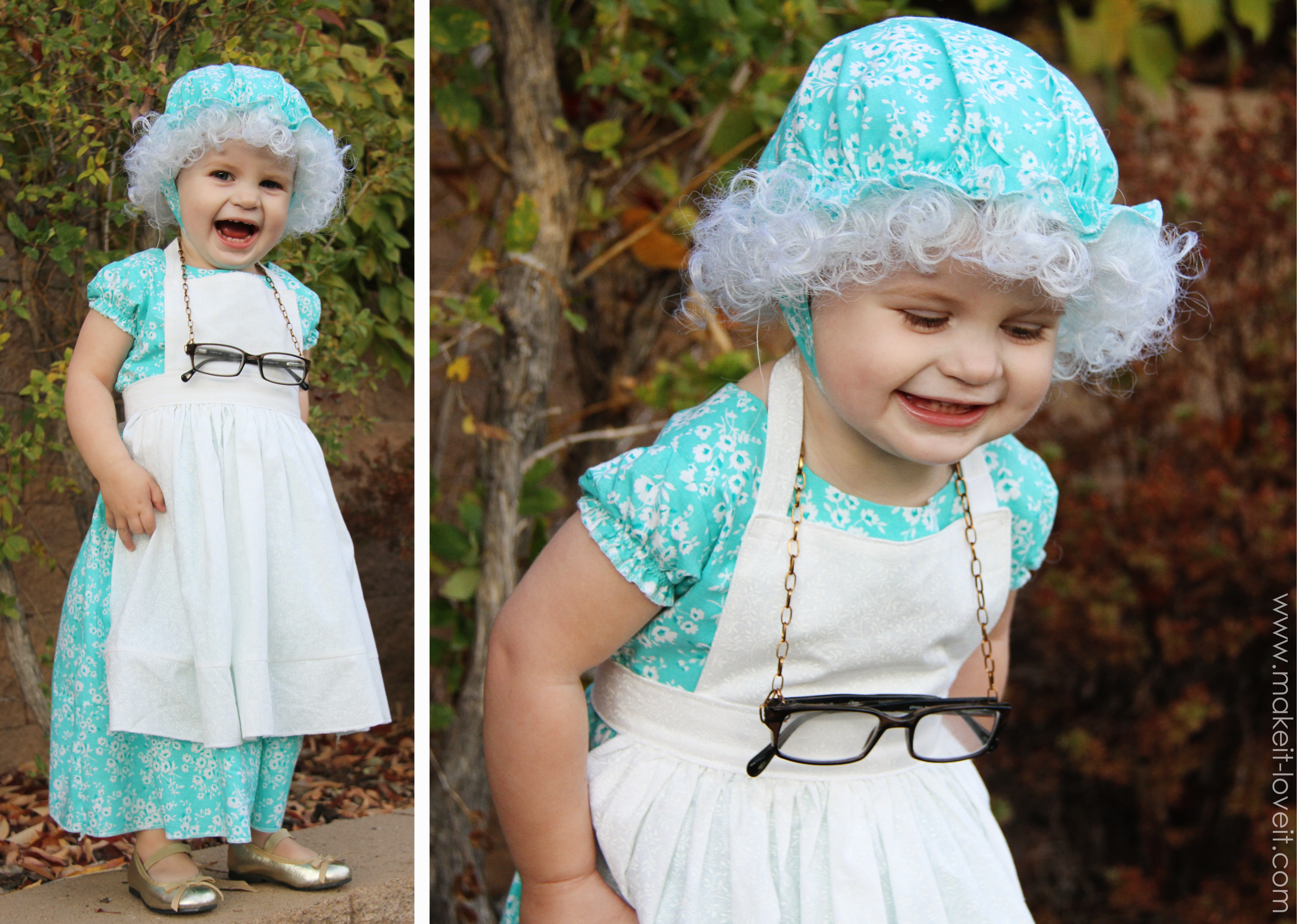 And well that granny cap and dress/apron combo finish it off perfectly!  sc 1 st  Bloglovin & Halloween Costumes 2012: The Granny (from u0027Little Red Riding Hood ...