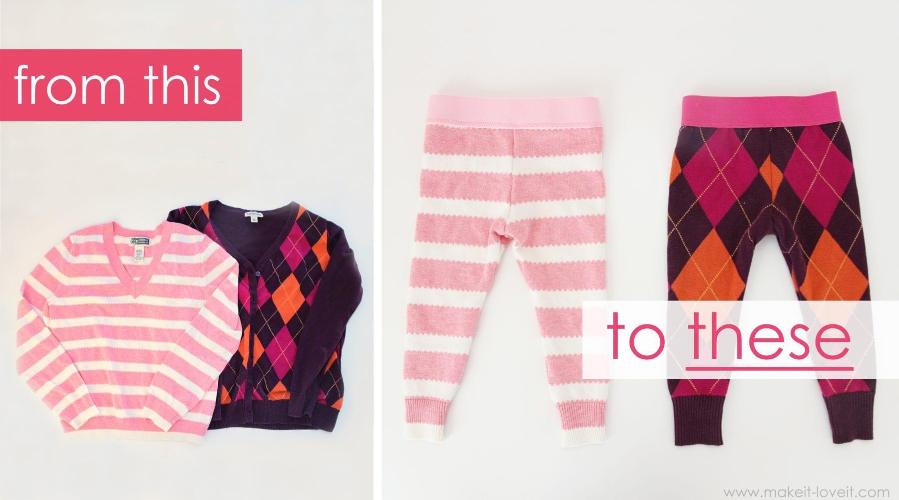 Как сшить ребенку свитер