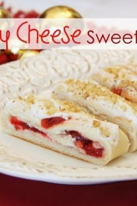 Cherry Cheese Sweet Bread {a holiday danish that's been in my family for YEARS}