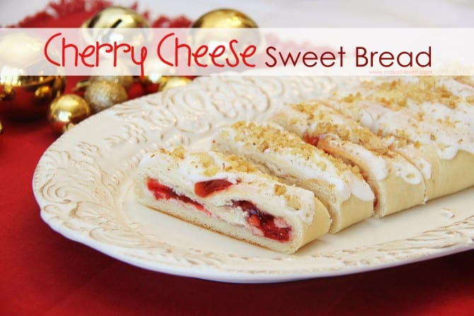 Cherry Cheese Sweet Bread {a holiday danish that's been in my family ...