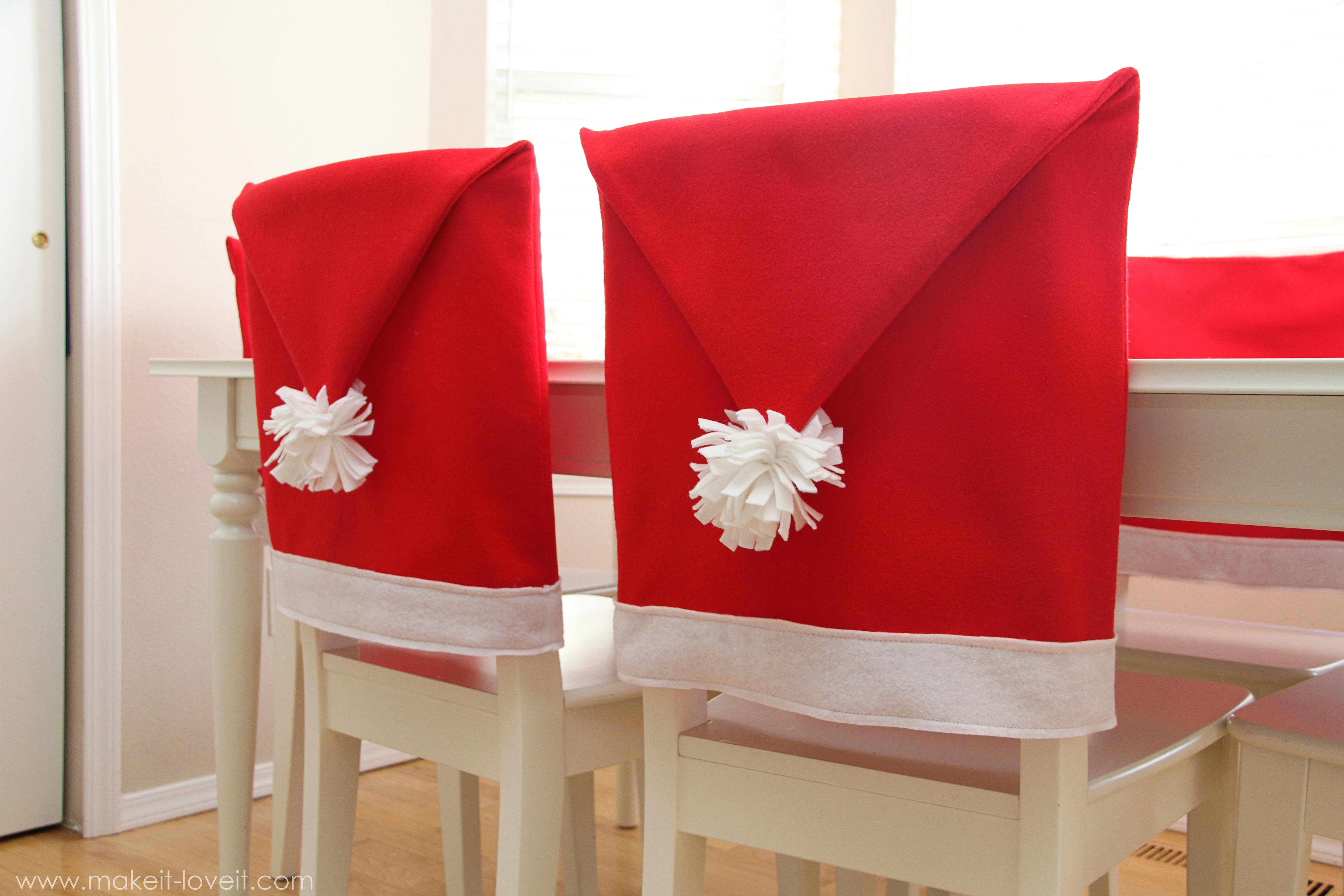 Your Little Santa Hat Seat Covers Are Ready To Be Loved