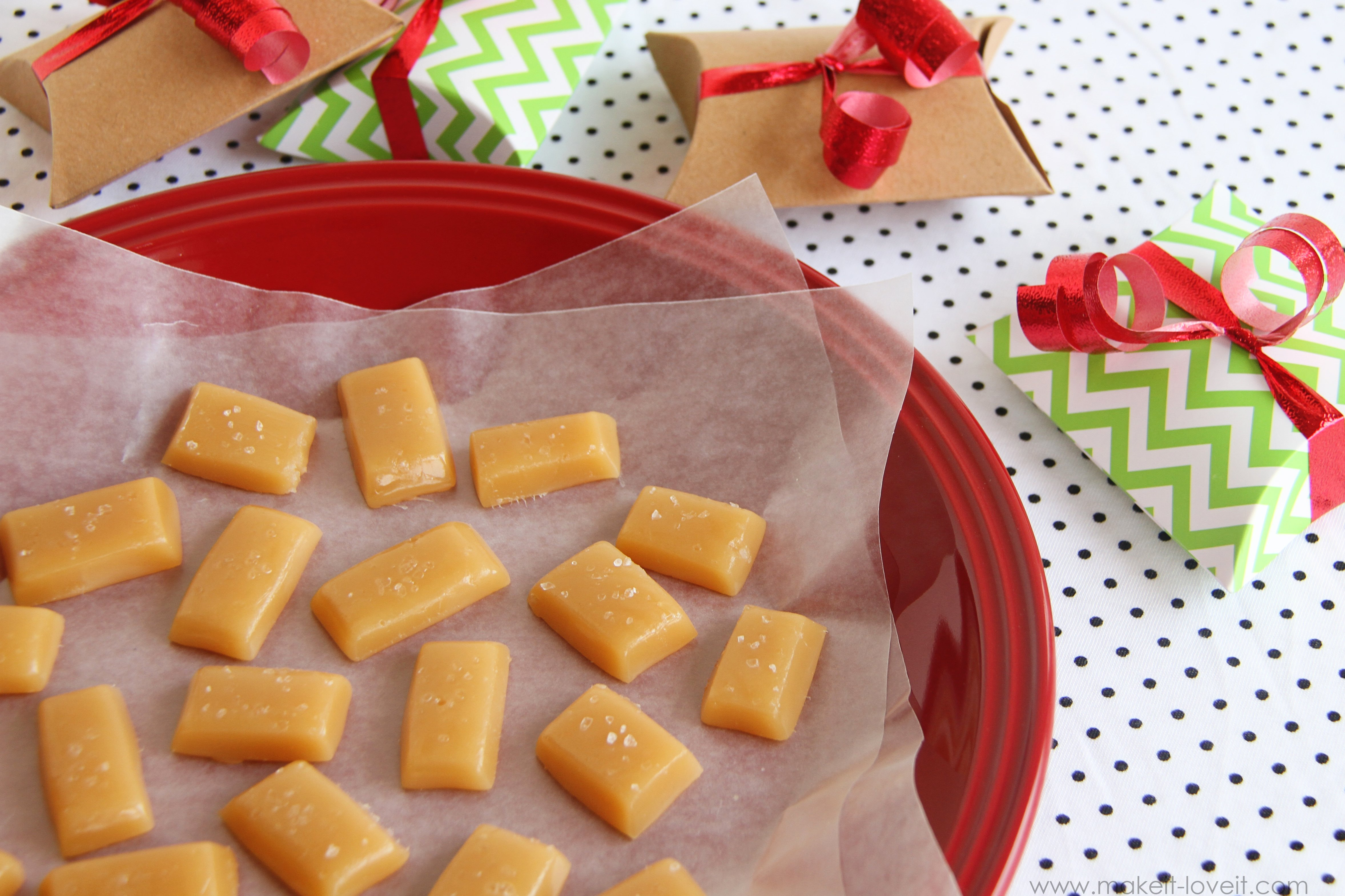 Chewy & Creamy MICROWAVABLE Caramels…Yum!