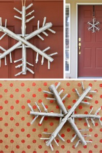 Twig & Branch Snowflake....a nice and earthy piece of winter decor