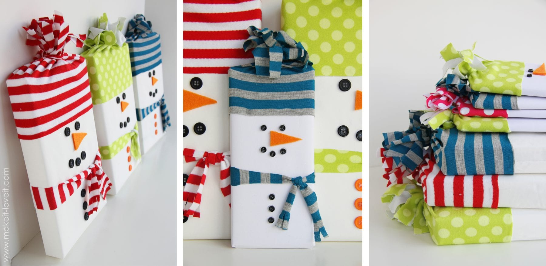 Упаковка. для новогодних подарков