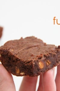Gluten Free Chewy Brownies.....{gluten-eaters won't know the difference!!}