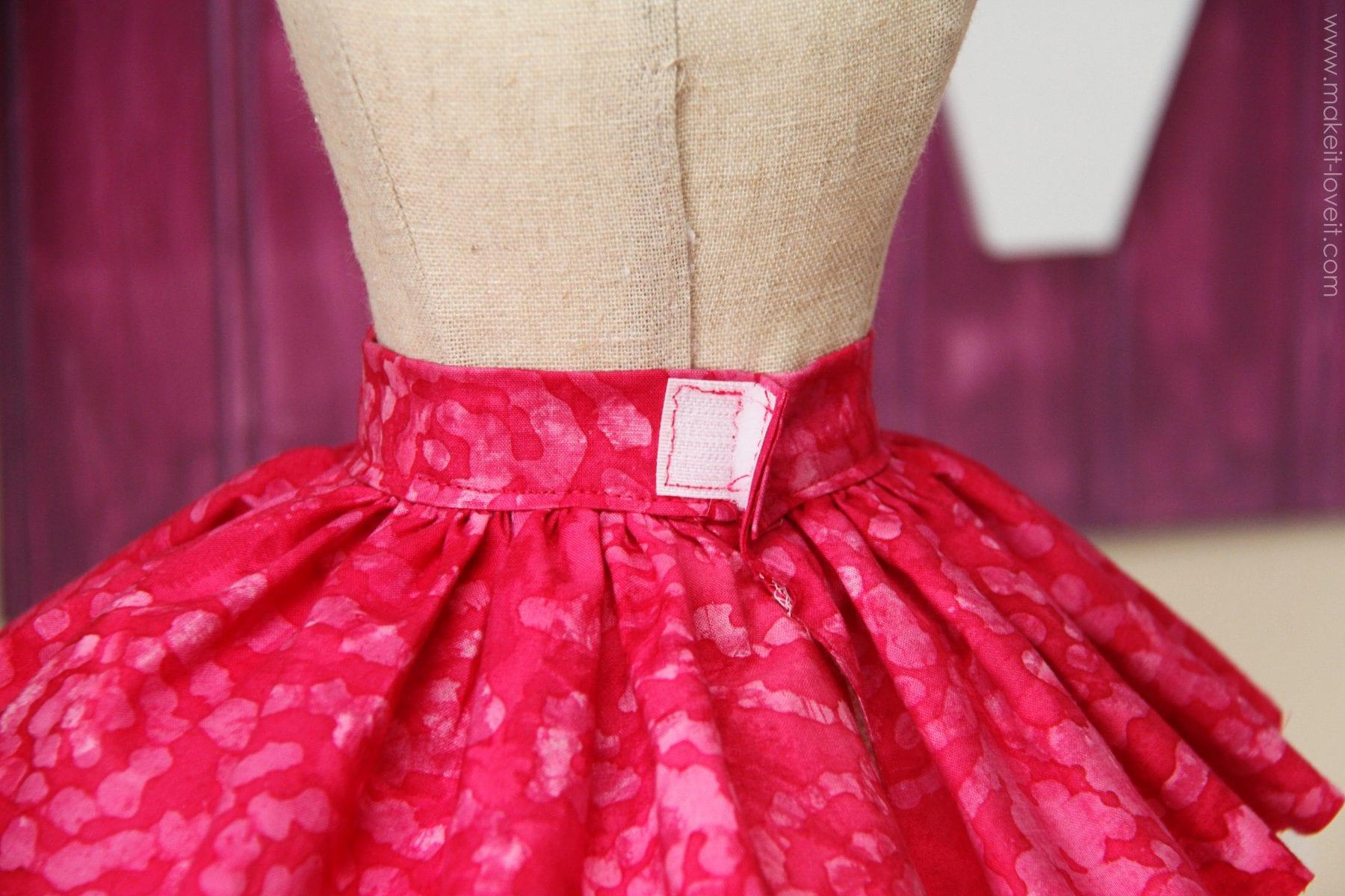 Как сшить юбку из выпускного пышного платья