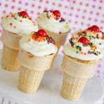 Ice Cream Cone Cupcakes.....Yum!