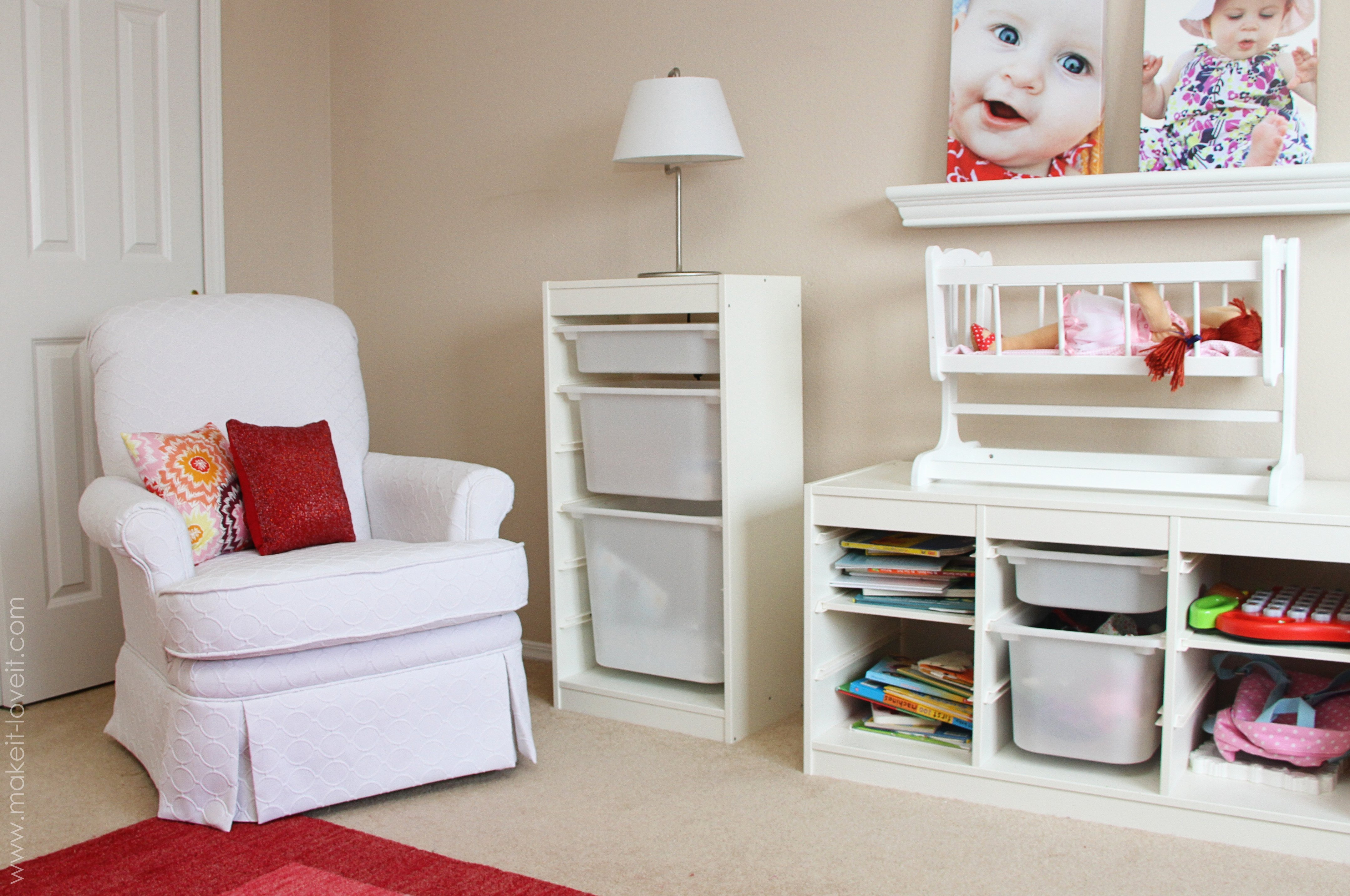 Ikea Storage With Tubs And Shelves