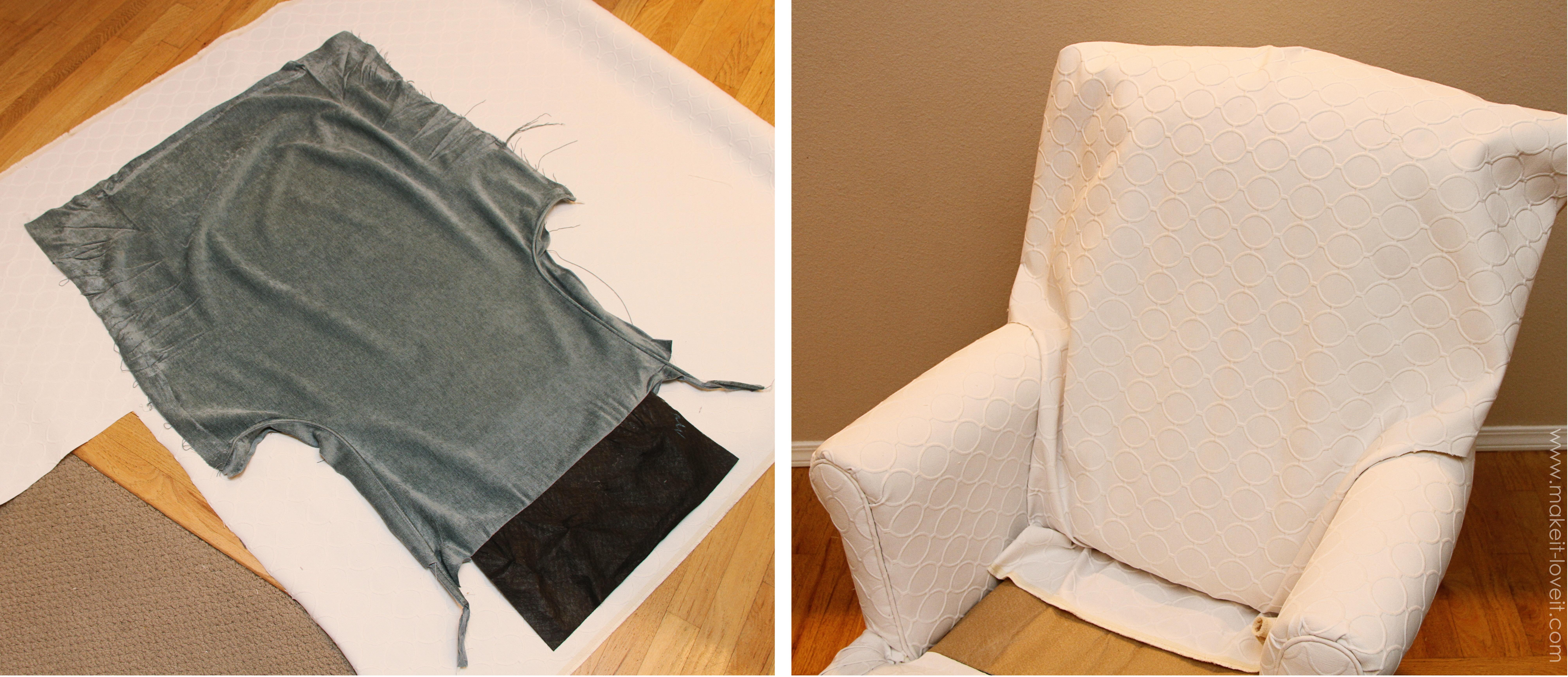 Re Upholstering 101 How I Re Upholstered My Swivel