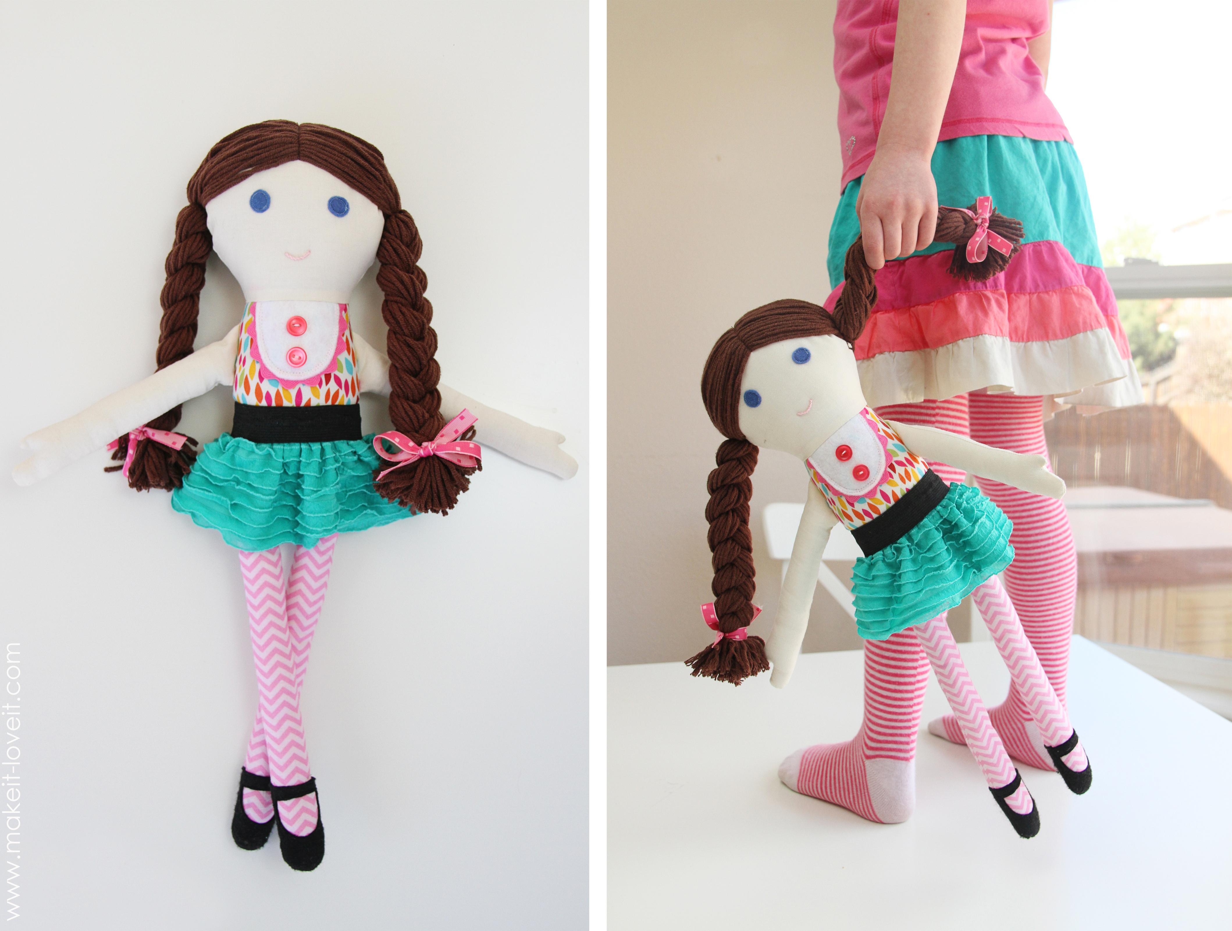 Как сделать куклу своими руками из ниток