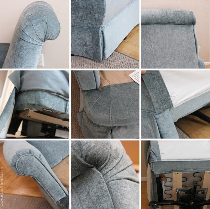 Re-Upholstering 101: How I re-upholstered my swivel ...