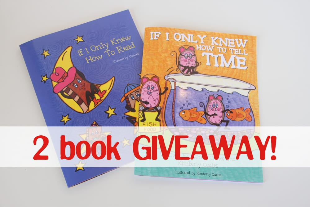 Children's Book Set (of 2) to Give Away: 3 WINNERS!