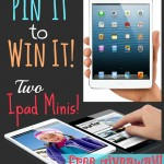iPad Mini, anyone? How about 2 of them?? {GIVEAWAY!!}