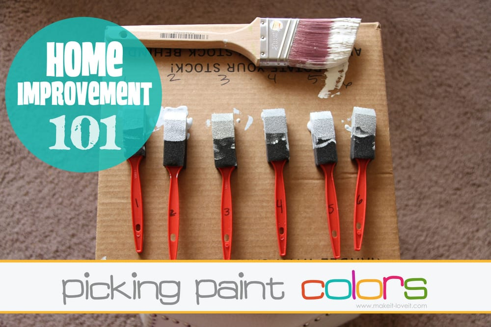 Home Improvement: Picking Paint Colors