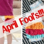 Did you see yesterday's APRIL FOOL'S joke?!?! (I don't really decorate diapers for fun...ha!)