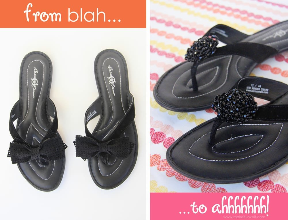 flip flop refashion