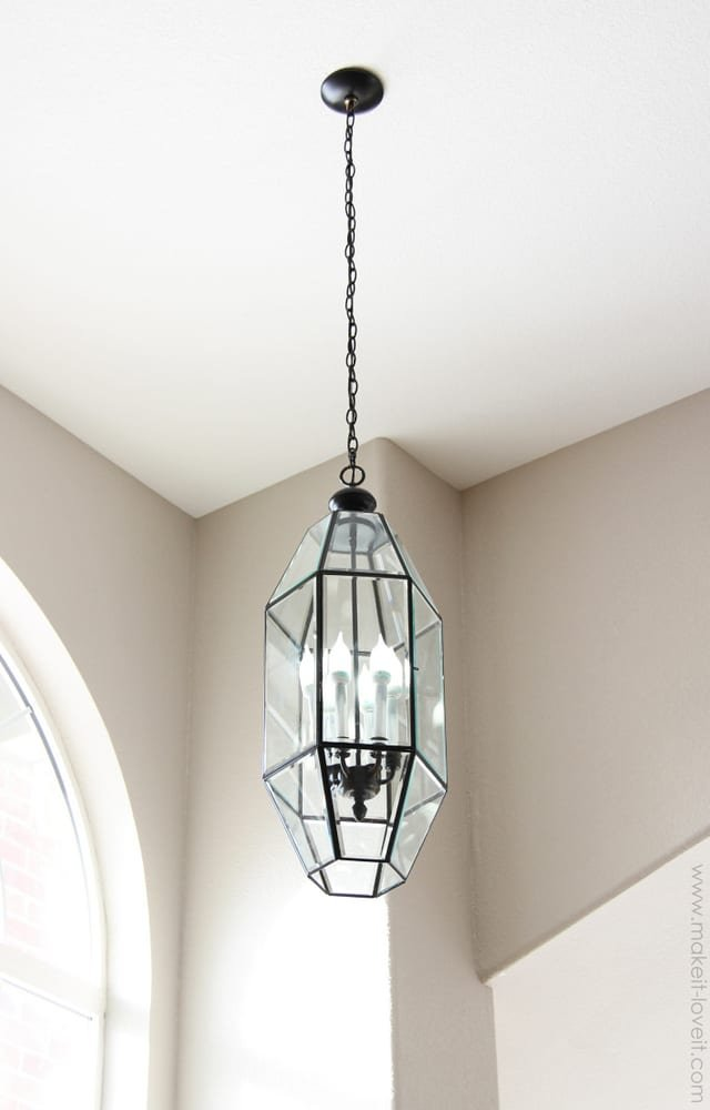 home improvement painting old chandeliers and light fixtures make. Black Bedroom Furniture Sets. Home Design Ideas